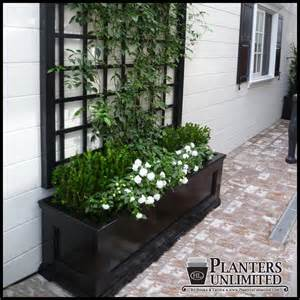 modern traditional planters commercial composite planters
