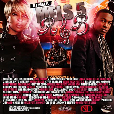 Doorbel Mixtape various artists mels r b 5 hosted by dj mels mixtape
