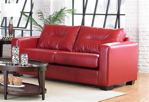 red vinyl couch red vinyl sofa modern vinyl couch at 1stdibs thesofa