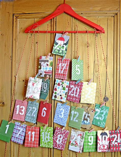 How To Make A Paper Advent Calendar - 100 diy decorations that will fill your home