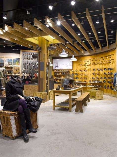hunting store layout timberland new store in london reflecting the brand s