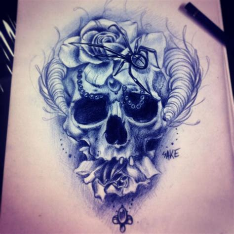 tattoo drawings designs and sketches skull sketches by giannis karetsos