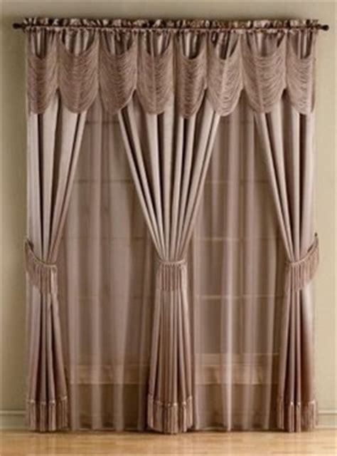 fingerhut curtains 2 halley 56x63 quot window in a bag halley taupe in spring big