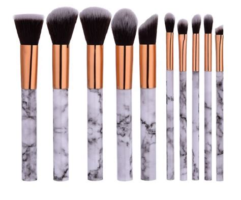Brush Gold Set 8 Set marble gold makeup brush set 10 best buys