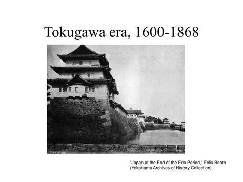 era tokugawa ppt tokugawa japan powerpoint presentation id 224198