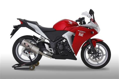 Knalpot All New Cb150r Slip On Yoshimura R 11 Biru honda cbr250r gets sport exhausts from yoshimura autoevolution