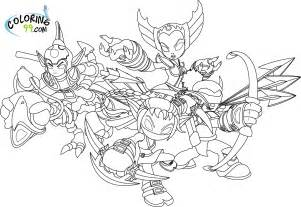 skylander coloring pages skylanders coloring pages team colors