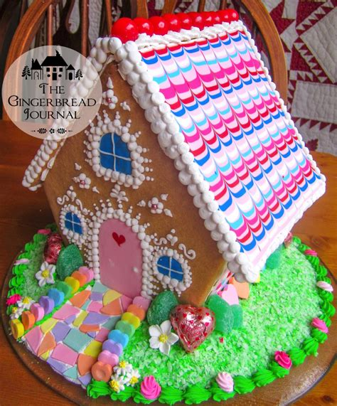 valentines gingerbread house fpewm ? The Gingerbread Journal