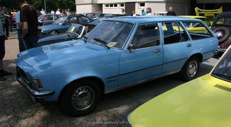 opel rekord station wagon opel 1975 rekord d 2000s 4door caravan the history of