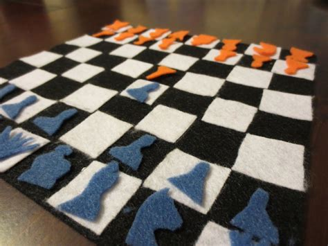 diy chess set diy chess board for kids crafts to do with kids