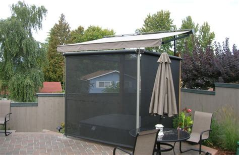 hot tub awnings hot tub cover and privacy screens traditional pool portland by pike awning company