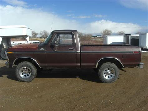 find used 1979 ford f 150 4x4 short bed in cortez