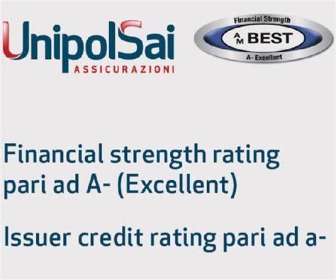 rating unipol unipolsai conferma la sua eccellenza anche sul mercato
