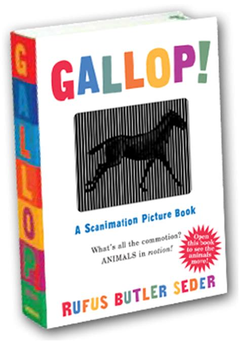 scanimation picture book gallop 171 scanimation books