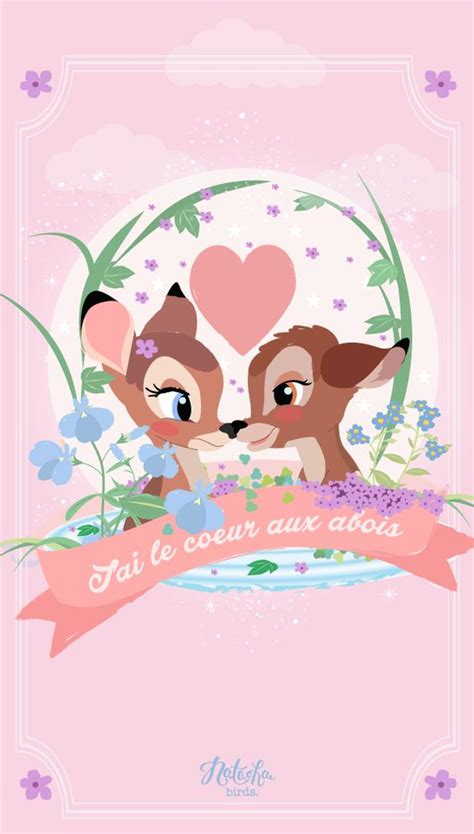 disney kawaii wallpaper bambi find more cute disney wallpapers for your iphone
