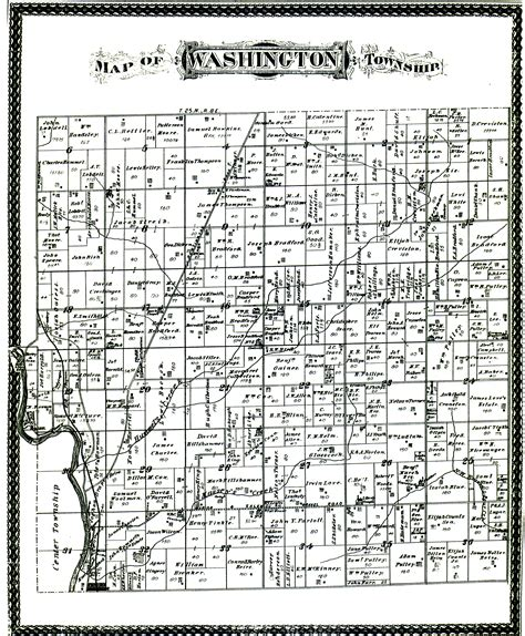 Grant County Property Records Grant County Townships