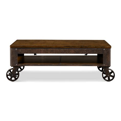 lift top coffee table with wheels shortline lift top cocktail table american signature