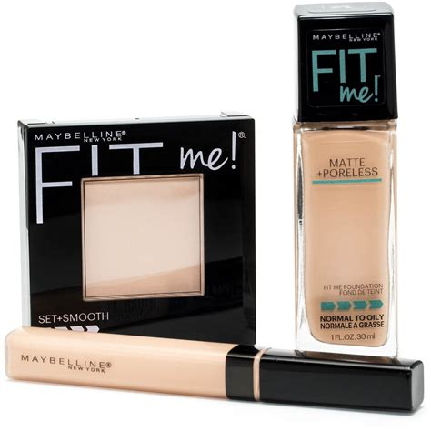 Maybelline Fit Me maybelline fit me matte poreless foundation concealer