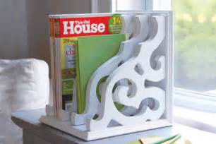 how to build a magazine rack this house