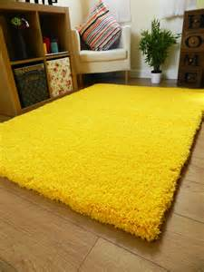 Large Area Rugs Cheap New Bright Non Shed Thick Yellow Shaggy Rug Large Small