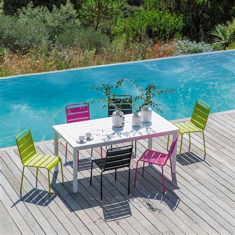 Table Jardin Couleur by Emejing Table De Jardin De Couleur Ideas Amazing House