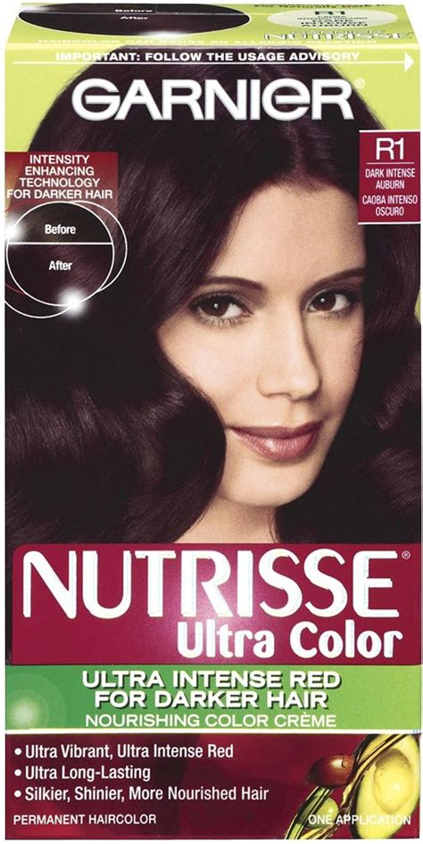 black cherry hair color chart pin garnier nutrisse hair color black cherry deep burgundy