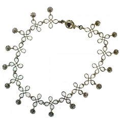 Handmade Payal - silver anklets on silver anklets anklet and