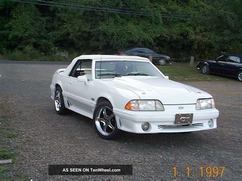 1991 ford mustang gt 5 0 1991 ford mustang gt convertible 2 door 5 0l