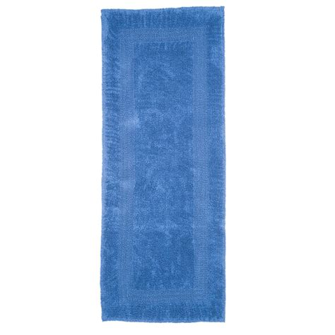 long bathroom rug lavish home 100 cotton reversible long bath rug bath rugs at hayneedle