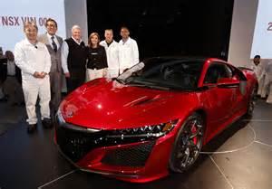 Last Year Acura Nsx Was Made 2016 Production 2017 Acura Nsx Egmcartech