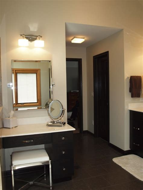 master bath sit vanity area for the home