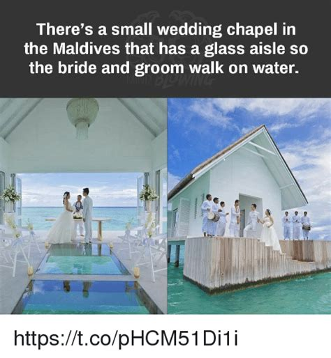 maldives wedding glass aisle there s a small wedding chapel in the maldives that has a