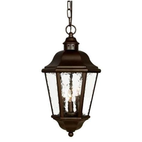 Discontinued Outdoor Lighting Acclaim Lighting Beaufort Collection 3 Light Hanging Outdoor Architectural Bronze Light Fixture