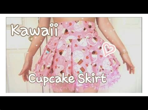 youtube tutorial sewing kawaii fashion pleated skirt sewing tutorial w youtube