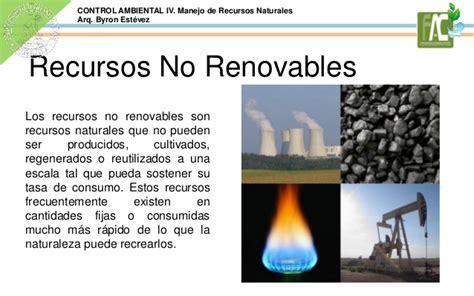 imagenes recursos naturales no renovables manejo de recursos naturales