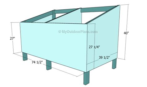 printable dog house plans double dog house plans myoutdoorplans free woodworking