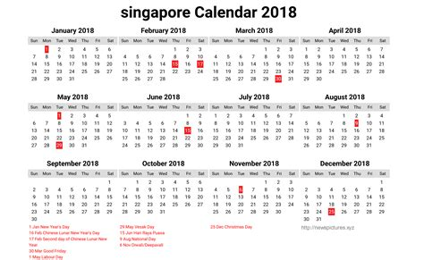 printable calendar 2018 sg singapore calendar 2018 12 newspictures xyz