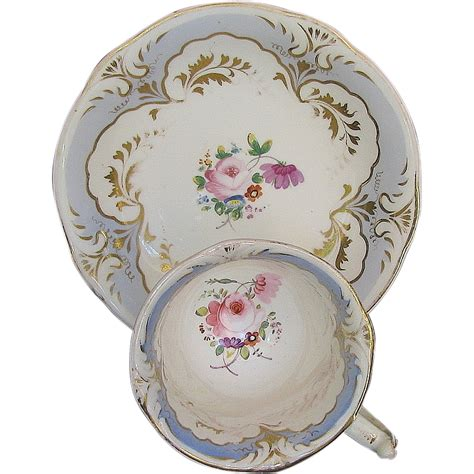 porcelain pattern numbers rockingham cup saucer antique early 19th c english