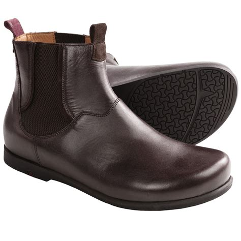 Footprints By Birkenstock Hamburg Boots Leather For