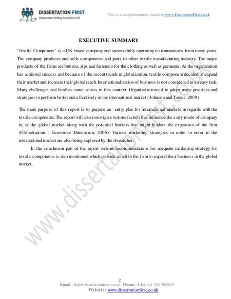 dissertation international dissertation international marketing management sle