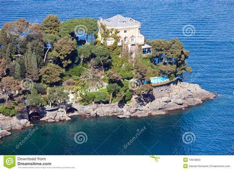 Cape House Plans Italian Riviera Villa Stock Photos Image 13918953