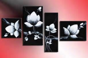 Best Place To Buy Dining Room Set hand painted modern wall art fly in black white flowers