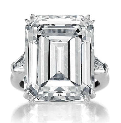 harry winston classic emerald cut ring