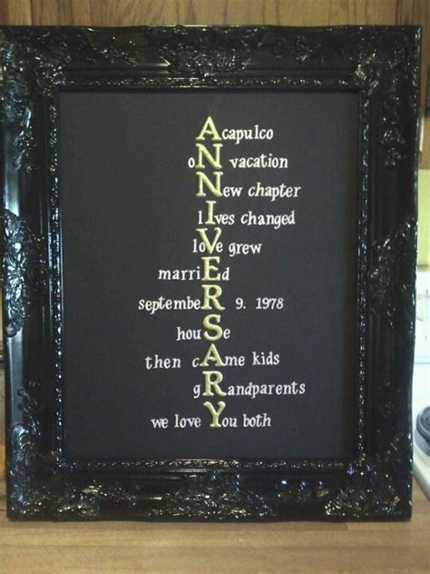 anniversary gift for parents for the home anniversary gifts for parents 25 wedding