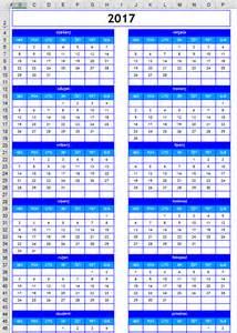 Kalendar Za 2018 God Kalendar 2017 S Državnim Praznicima Blagdanima I Neradnim
