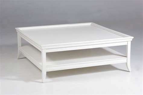 Square White Coffee Table Oslo Square Coffee Table White Htons Style