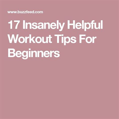 17 best ideas about easy beginner workouts on pinterest 17 best ideas about workout routines for beginners on