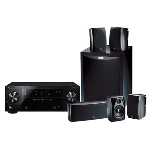 polk audio 5 1 home theatre speaker system and pioneer