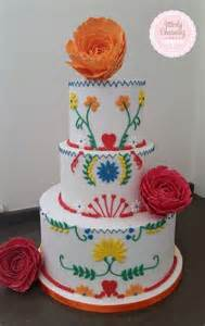 mexikanische kuchen mexican themed cake cake by utterly charming cakes