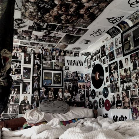 punk rock bedroom grunge music on tumblr